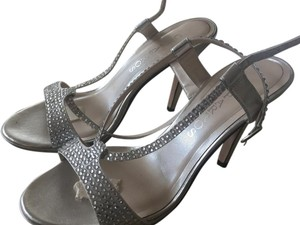 Caparros Wedding Heels Silver Formal