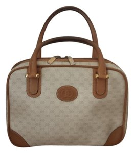 Gucci Satchel in beige tan