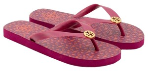 Tory Burch Party Fuchsia Sandals