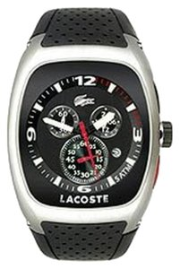Lacoste LACOSTE Male Sports Watch 2010327 Black Analog