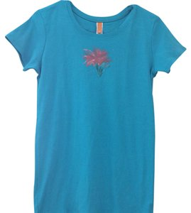 lucy T Shirt Turquoise