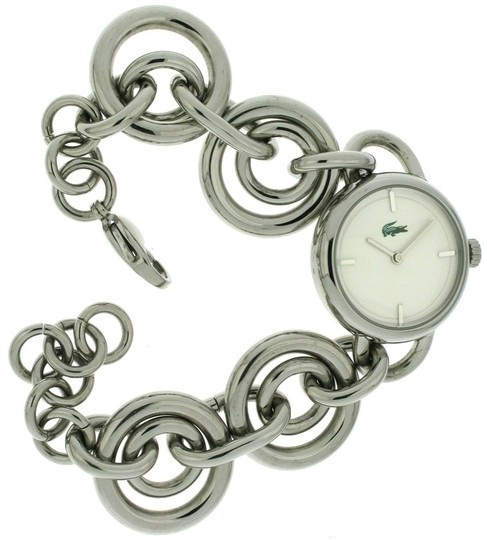 Lacoste Lacoste Female Collection Link Watch 2000382 Silver Analog Image 1