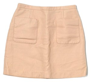3.1 Phillip Lim Wool Silk Pockets Mini Skirt