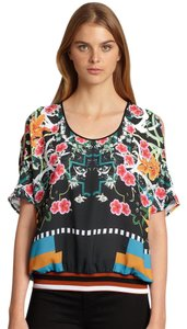 Clover Canyon Floral Top Multicolor