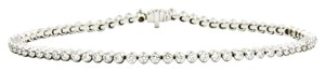 Tiffany & Co. Jazz Tennis Bracelet in 950 Platinum with Diamonds Length 6.5