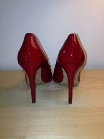 Jessica Simpson Patent Date Night Sexy Red Pumps