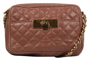 Michael Kors Quilted Leather Chain Cross Body Bag