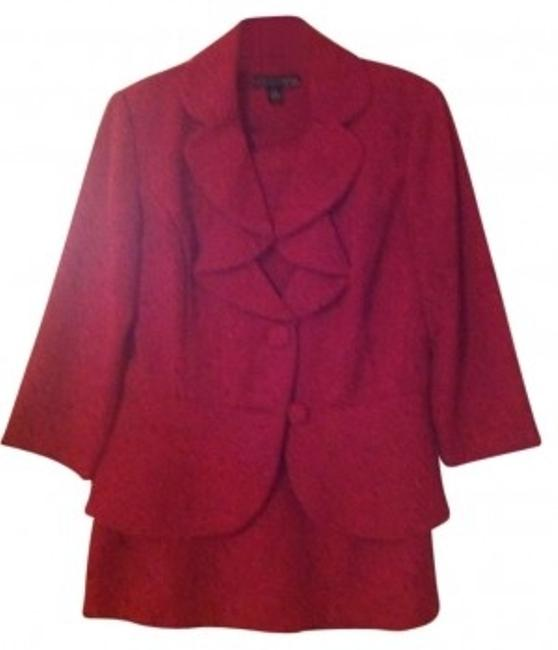Preload https://item1.tradesy.com/images/madison-leigh-cranberry-skirt-suit-size-8-m-164210-0-0.jpg?width=400&height=650