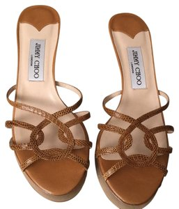 Jimmy Choo Light brown Sandals
