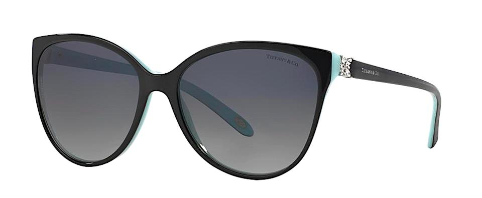 ce5e6c7a801 Tiffany   Co. Black Blue with Gradient Gray Lenses