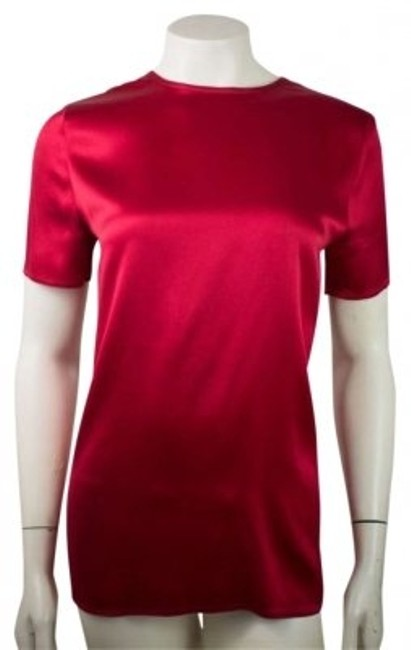 Preload https://item4.tradesy.com/images/chanel-red-silk-blouse-size-8-m-164218-0-0.jpg?width=400&height=650