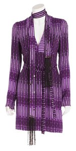 Tom Ford Fringe Belt Dress