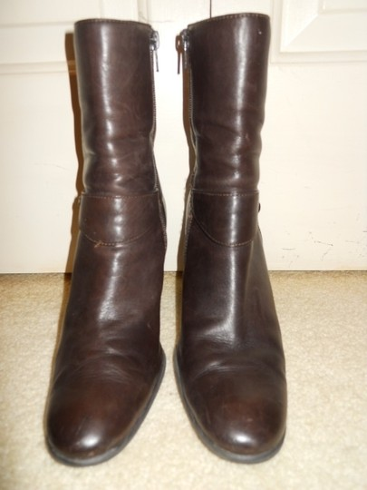 Etienne Aigner Leather brown Boots