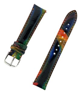 Michele MS16AA350087 MICHELE 16mm Calypso Leather Watch Band