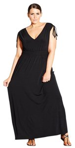 Black Maxi Dress by City Chic
