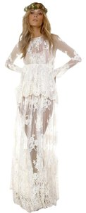 Alexis Bohemian Lace Embroidered Dress