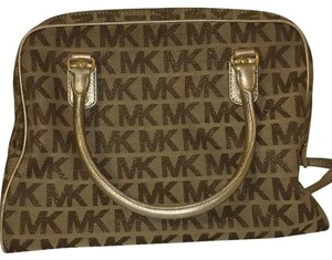 MICHAEL Michael Kors Satchel in Gold