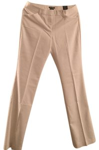 Express Straight Pants Off white