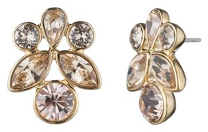 Givenchy Swarovski elements rose crystals sets in rose goId tone earring
