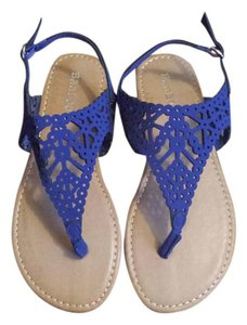 Bamboo Krea Blue Sandals