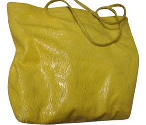 Carlos Falchi Tote in yellow
