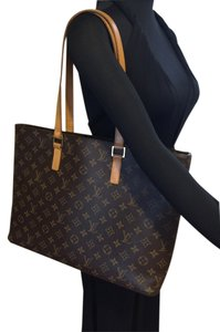 Louis Vuitton Luco Monogram Tote in Browns