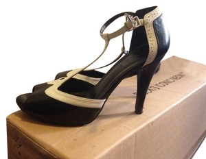 ALDO Oxford Punk Goth B&w Pumps