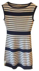 Trina Turk short dress Blue and white on Tradesy