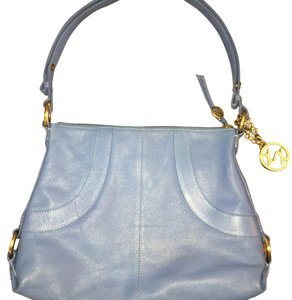 Maxx New York Pebble Leather Pockets Shoulder Bag