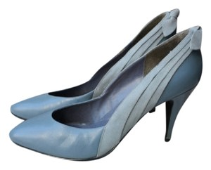 Fanfares Blue Slate Grey Gray Grey Blue Pumps