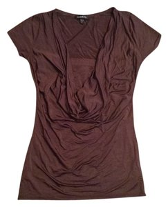 bebe Two Piece Top Brown