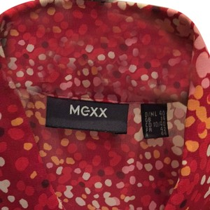 Mexx Top Red/pink/white/orange Print