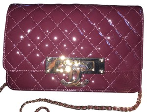 Chanel Patent Leather Cross Body Bag