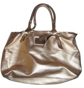 Victoria's Secret Handbag Tote Satchel in Gold