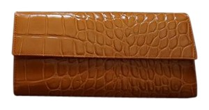 Furla NEW Embossed Orange Classic Furla Wallet