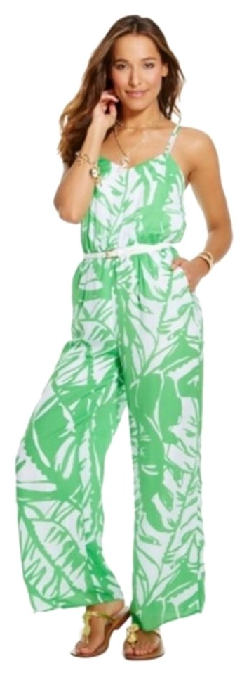 49a6d4a212f Lilly Pulitzer for Target Jumpsuit in Boom Boom Green Palm XS New Image 0  ...
