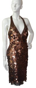 Sue Wong Gatsby Sequin Beaded Dress