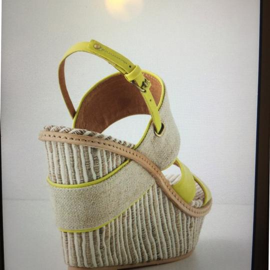 Anthropologie Lime Wedges Image 1
