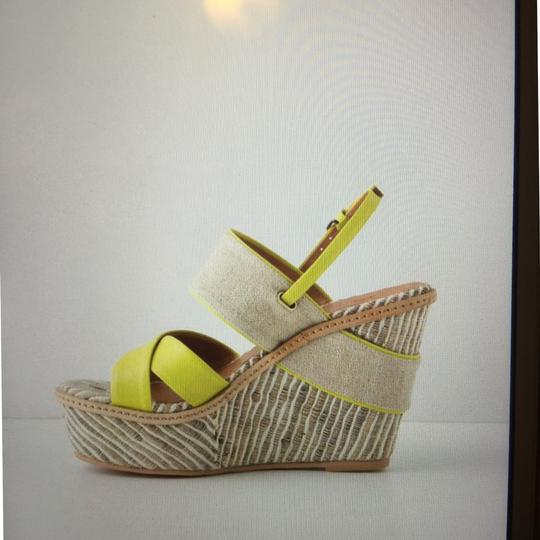 Anthropologie Lime Wedges Image 2