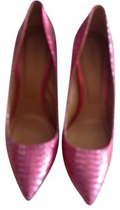 Rachel Roy Fun Attention Getter Versitle Irridecent Pink Pumps