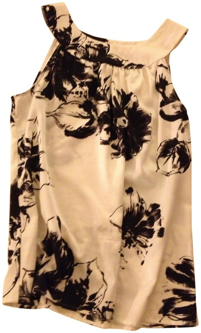 Ann Taylor Top white and black