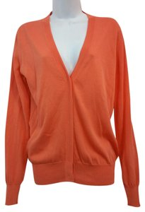 Fendi Cardigan Coral Knit Sweater