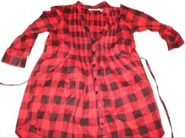 Preload https://img-static.tradesy.com/item/164289/kimchi-blue-red-urban-outfitters-xs-plaid-tunic-size-0-xs-0-0-650-650.jpg