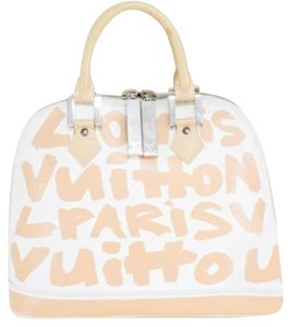 Louis Vuitton Stephen Sprouse Sprouse Satchel in Graffiti