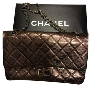 Chanel Satchel in Pink Mettalic