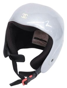 Chanel Metallic CC Helmet 204966
