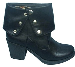 Dollhouse Convertible Black Boots