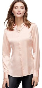 Ann Taylor Button Down Shirt Pink