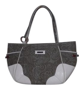 Joanel Tote in White/gray