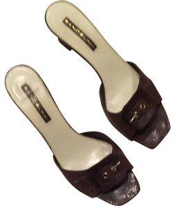 Bandolino Shimmery Brown Sandals